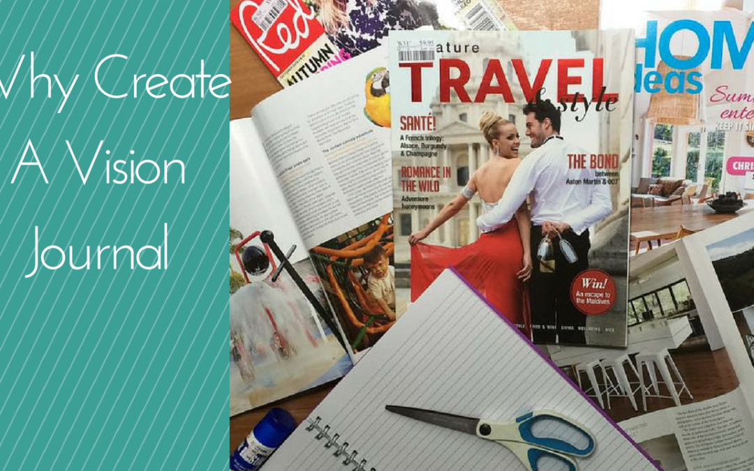 how to create a vision journal
