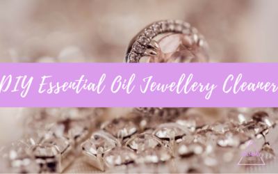 DIY Essential Oil Jewellery Cleaner